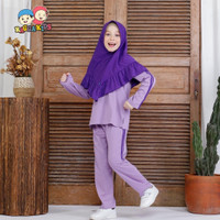 Baju Setelan Olahraga Anak Perempuan / Cewe Raggakids Usia 3 - 11tahun