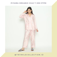 Baju Tidur Piyama Wanita Organic Silk Lengan Panjang Greet T-090 PTPK
