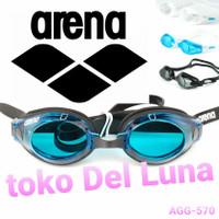 kacamata renang ARENA PACIFIC TRAINNING AGG570 ORIGINAL