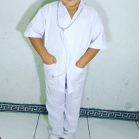Baju Dokter Anak Laki Laki Perempuan Kostum Profesi Anak Kostum Anak
