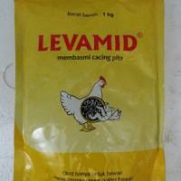 OBAT CACING PITA AYAM LEVAMID 1kg