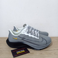 Sepatu Nike Air Zoom Pegasus 37 Turbo Particle Grey Black White Dark G