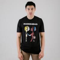 Kaos / T-Shirt Radiohead The Best of Album | Rock Band Legend | Musik