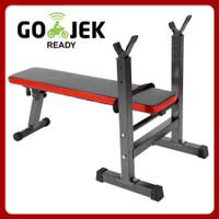 Bench Press Weight Bench Benchpress Multi/ Bangku Fitness Angkat Beban