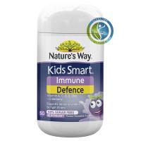 Nature Way Immunity Defence Cold Flu Kids Smart 50 tabs Vitamin Anak