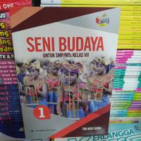 Buku Seni Budaya Untuk SMP Kelas 7 K13 Revisi Erlangga ORI Abdi Guru