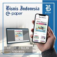 Bisnis Indonesia epaper | DELUXE 12 BULAN