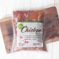 Fillet Paha Ayam Probiotik Organik Frozen (800-1000gr)
