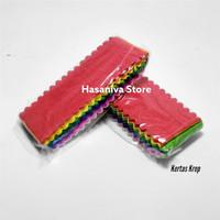 Kertas Krep Warna-warni Untuk Hiasan Ulang Tahun