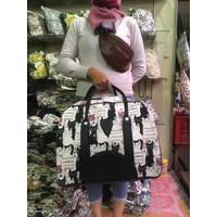 Travel Bag Kanvas Jumbo Tebal