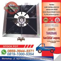 Stainless Steel Gas Stokpot High Pressure / Kompor Gas High Pressure