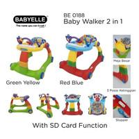 Baby Walker Babyelle 2in1 BE-0188 / Activity Walker Baby Elle / Dorong