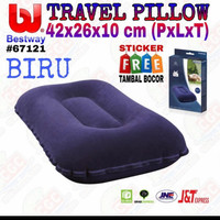Bantal Angin Portable Bestway 67121 - Bantal Tiup Travel Pill