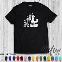 Kaos/Baju/Tshirt Distro THE STIG Family