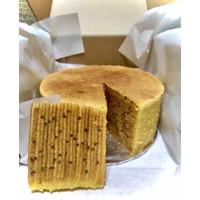 Kue Lapis Legit Premium Wisman bulat 14 Home Made by Legitz_Meld