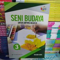 Buku Seni Budaya Untuk SMP Kelas 9 K13 Revisi Erlangga ORI Abdi Guru