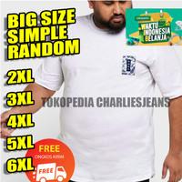 KAOS PRIA XXL XXXL Baju Big Size Oblong Jumbo
