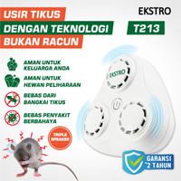 Tissor Extro Pengusir Tikus Ultrasonic T213 Tanpa Racun Perangkap Lem