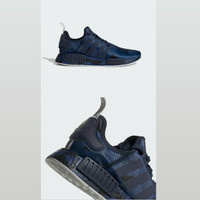 adidas nmd R1 camo blue limited