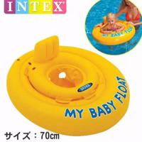 Pelampung Ban Duduk Anak Bayi - My Baby Float 70cm INTEX# 56585