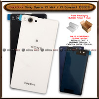 BackDoor Tutup Casing Belakang HP Sony Xperia Z1 Mini Compact D5503