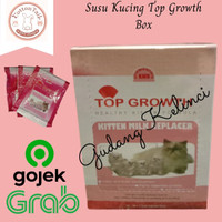 Susu Kucing Top Growth 1 BOX Healty Kitten Formula Top Growth 1 BOX