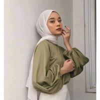 AMEERA Atasan wanita /baju atasan ootd wanita/Hijab daily