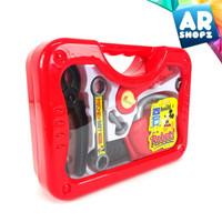 Mickey Tool Kit Toy Mainan Anak Tas Koper Alat Tukang Gergaji Mesin