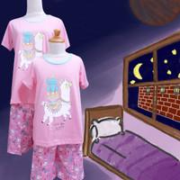 Baju Tidur Anak Cewek Anne Claire (Llama) St. Lgn Pdk Cln Pdk