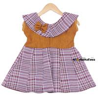 Dress Evelin Baby New Born Baru Lahir / Baju Anak Baby Perempuan Cewek