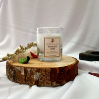 Lilin aromaterapi Aromatherapy Candle dalam Gelas Scented Glass Candle