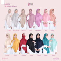 Hijab Instan Khimar Rafaza Satu Hijab Bisa Empat Model Hijab By Azkia