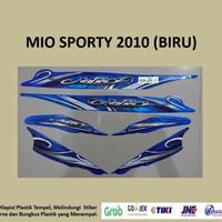 Mio Sporty 2010 (biru) List Striping Stripping Stiker Sticker