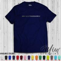 Kaos/Baju/Tshirt BMW M Performance Silver Print Edition