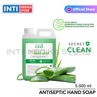 SECRET CLEAN - Hand Soap AntiSeptic 5 Liter | Sabun Cuci Tangan 5 L