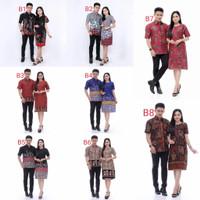 Baju Batik Couple Sarimbit Keluarga   Seragam Batik Kantor Terbaru