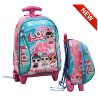 Tas Trolley Anak PAUT My Little Pony Bahan Kain Sponge Tahan Air - 12 - LOL MG