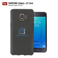 Softcase TPU Hitam Samsung Galaxy J2 Core