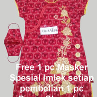 Baju Shanghai Anak Baju Dress Chinese Ceongsam CNY