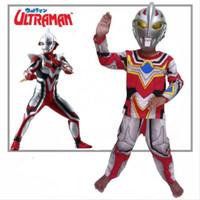 kostum ultramen go/baju ultraman anak laki-laki