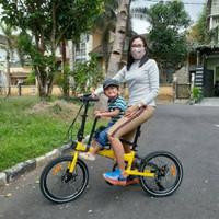 boncengan sepeda anak TERMURAH!!!kursi boncengan sepeda anak