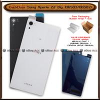 BackDoor Tutup Casing Belakang HP Sony Xperia Z2 Big D6503 D6502 Cover - Putih