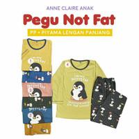 Piyama anak ANNE CLAIRE Lengan Panjang Celana Panjang Motif Pinguin
