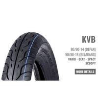 Ban Motor HONDA AHM KVB 80/90-14 Matic (Tubetype) Ban Luar Vario Beat