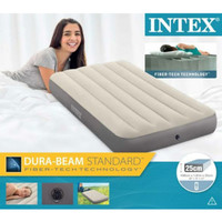 Kasur angin/ kasur tiup intex twin size/travelling bed