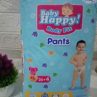 Popok bayi baby happy ukuran S, M, L, XL, XXL