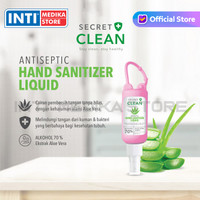 SECRET CLEAN - Hand Sanitizer Spray Aloe Vera 60 ml | Hand Antiseptic