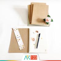 Buku Catatan / Notebook B5 Samoyed NBCC-51 (Plain/Ruled/Grid/Dotted)