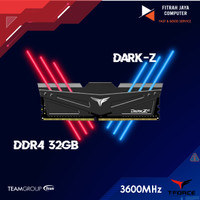 Memory Ram Team DDR4 Team T-Force Dark Z 3600Mhz PC28800 32GB (2X16GB)