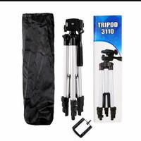 Tripod kamera hp handycam tripot mobile + Bonus holder Hp